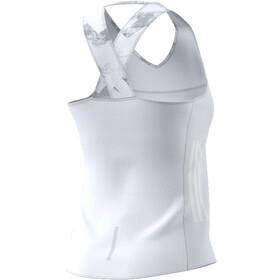 adidas AdiZero Løbetræje ærmeløs Damer hvid